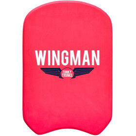 Funky Trunks Kickboard, red wingman
